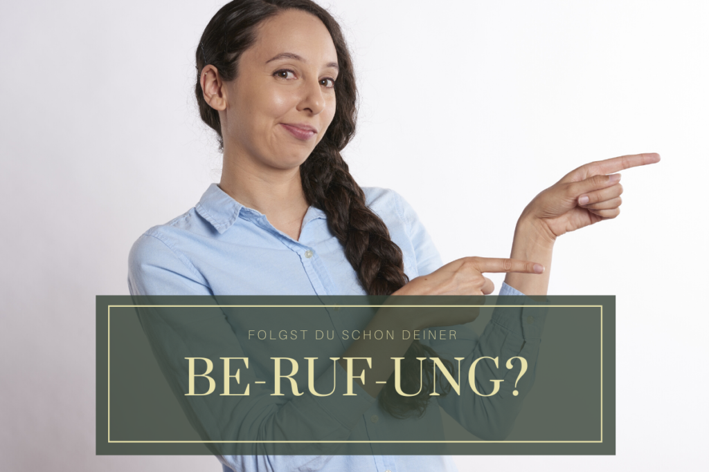 Be-ruf-ung