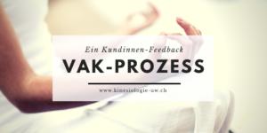 Feedback zum VAK-Prozess